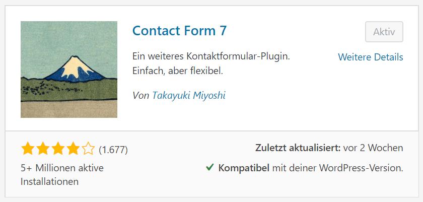 Contact-7 Plugin