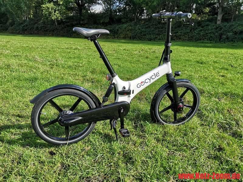 Review Klapp-E-Bike Gocycle GX im Praxistest