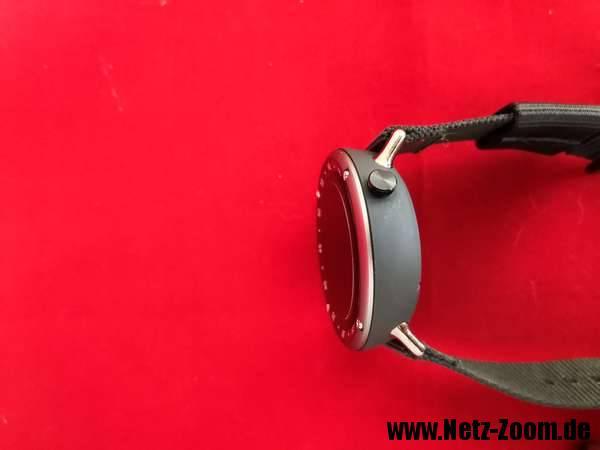 LF22 Smartwatch Bedienungsknopf