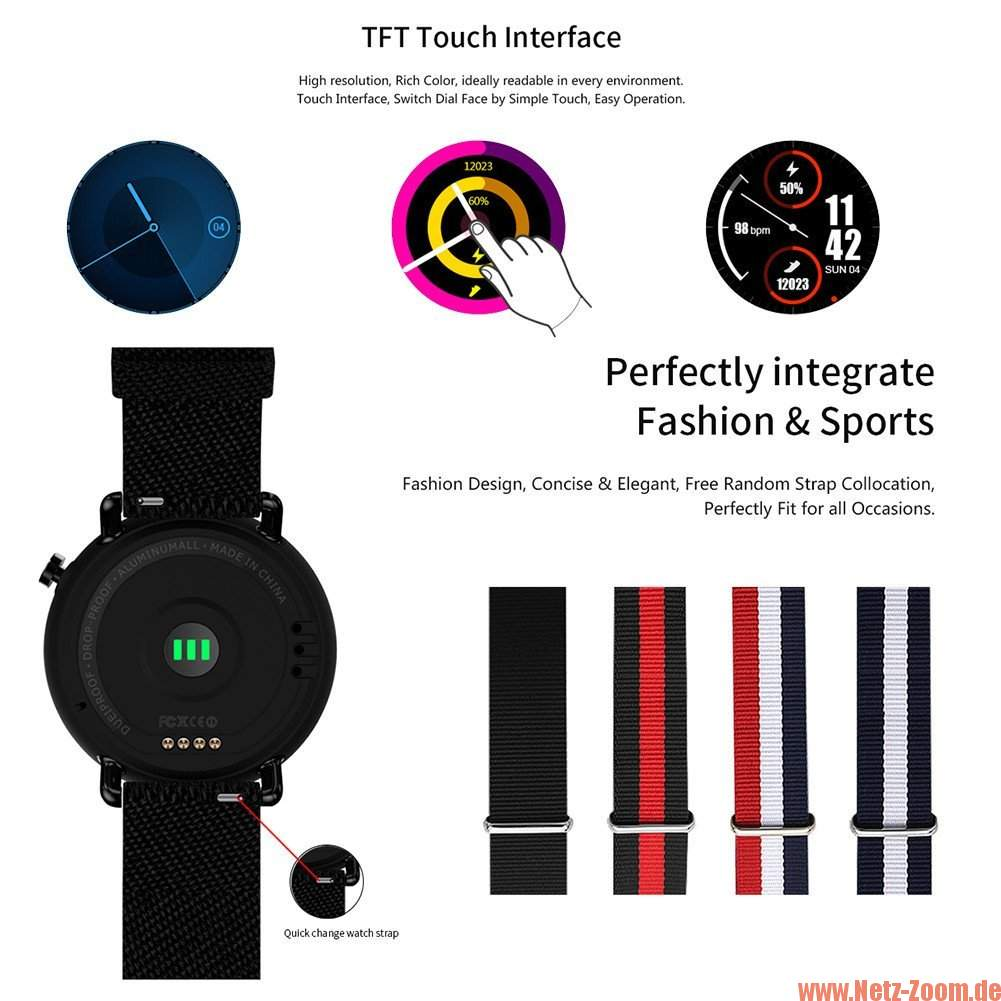 Lemfo LF22 Smartwatch Faces