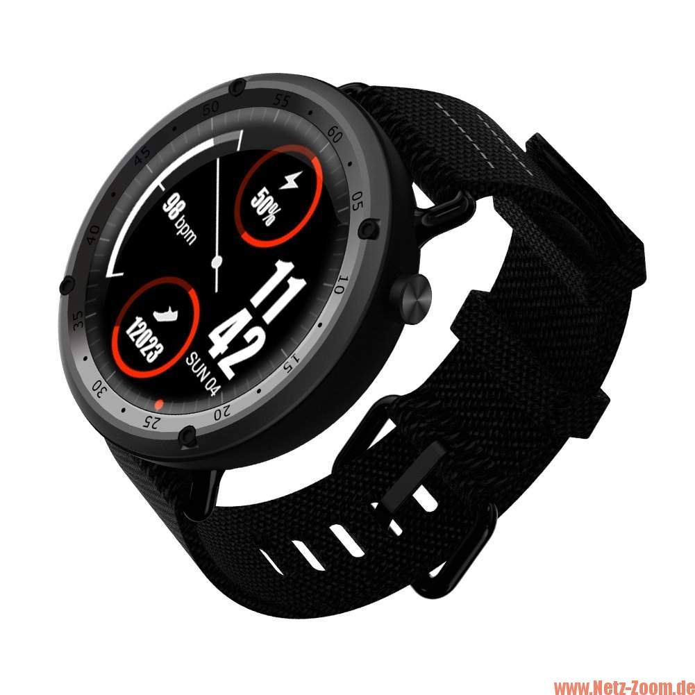 Review: Lemfo LF22 Smartwatch mit GPS im Test