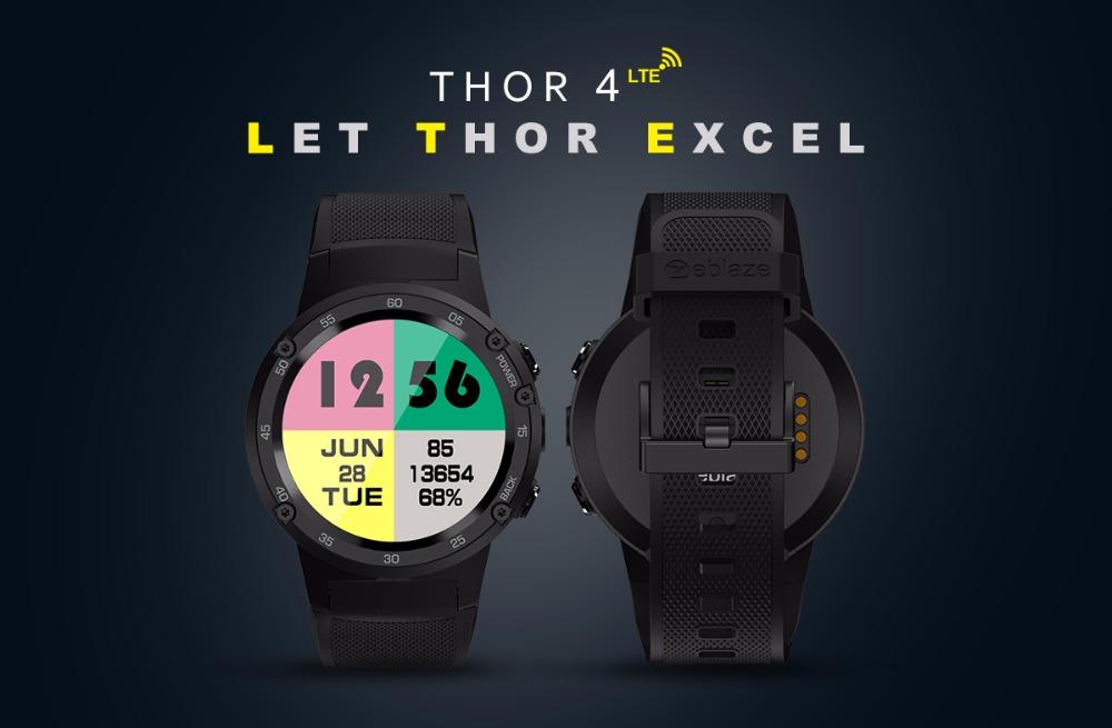 Zeblaze THOR 4 Smartwatch Modell 2018