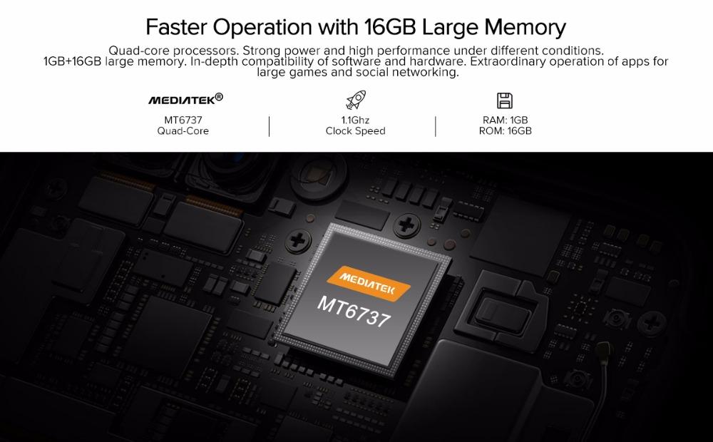 Zeblaze THOR 4 Smartwatch CPU 6737