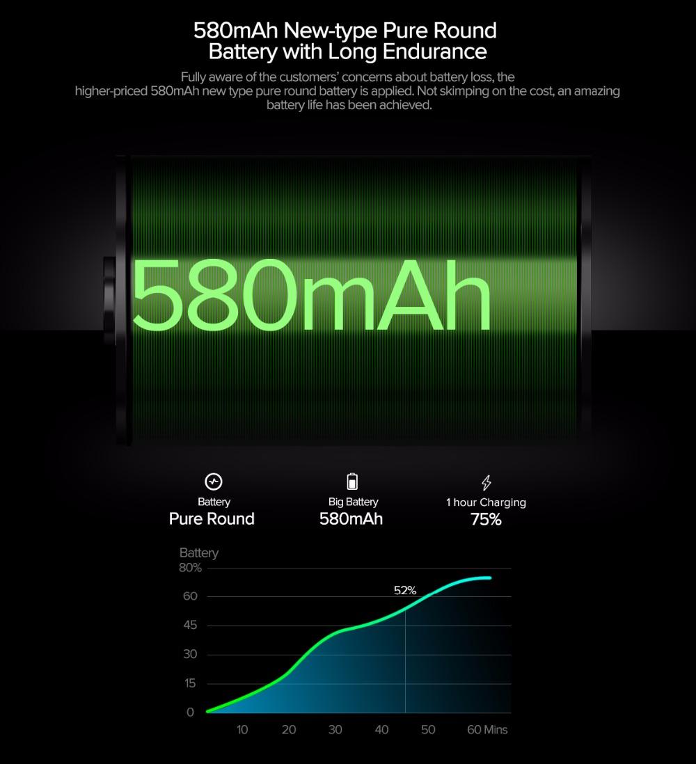 Zeblaze THOR 4 Smartwatch Power Akku