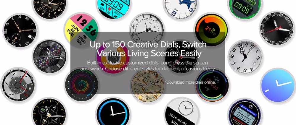 Zeblaze THOR 4 Smartwatch Faces
