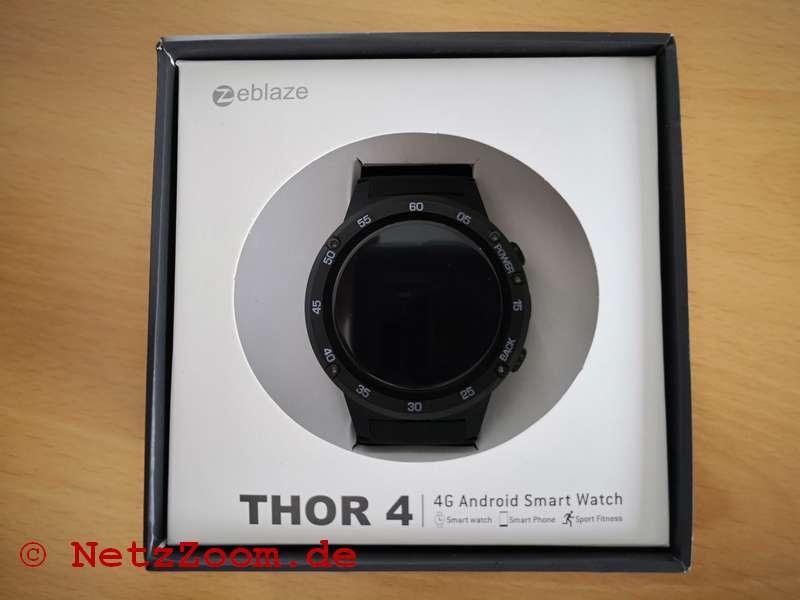 THOR 4 Smartwatch Verpackung